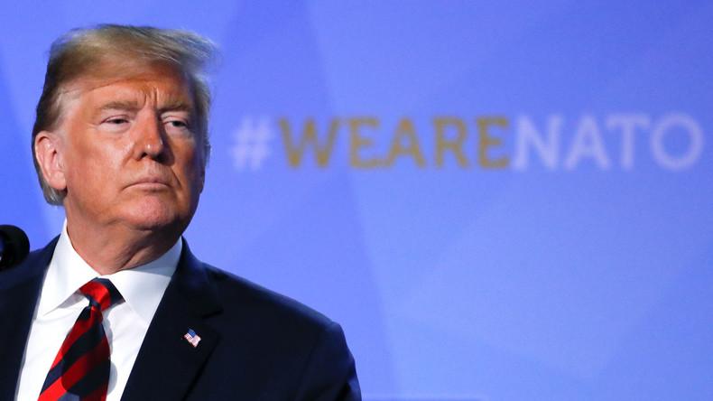 Trump sichert NATO-Partnern Bündnistreue zu