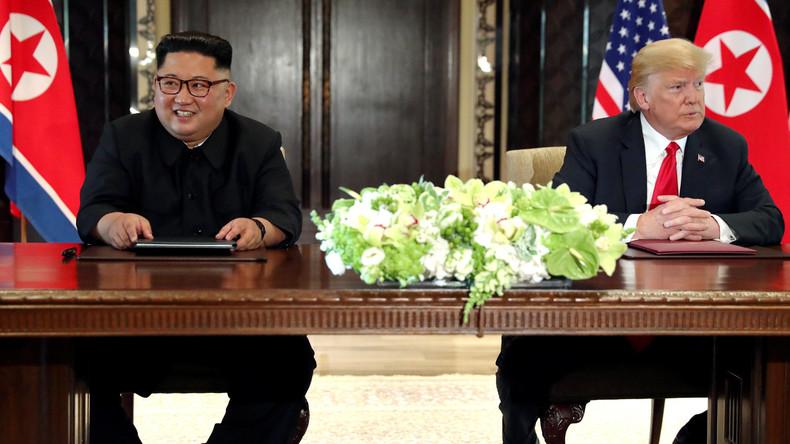 """Kim Jong-un schreibt Trump einen """"sehr netten Brief"""": Von Denuklearisierung sagt er aber kein Wort"""