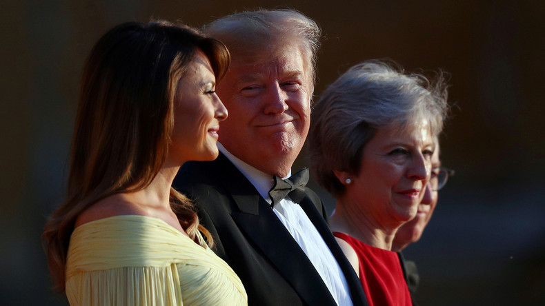 "Boris Johnson wäre ""großartiger Premier"": Trump fällt Theresa May in den Rücken"