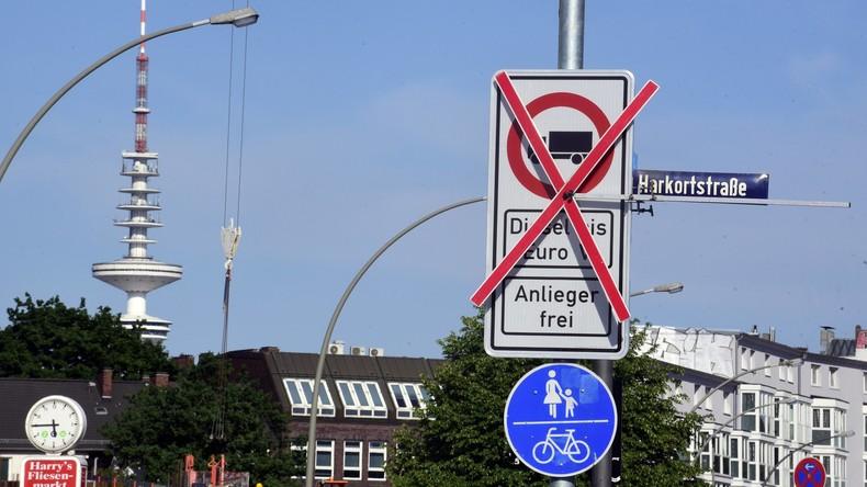 Sechs Wochen Dieselfahrverbot in Teilen Hamburgs - 173 Fahrer ertappt
