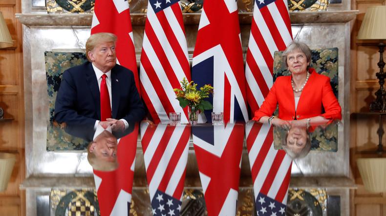 """USA und Großbritannien – Eine """"ganz besondere Freundschaft"""" (Video)"""