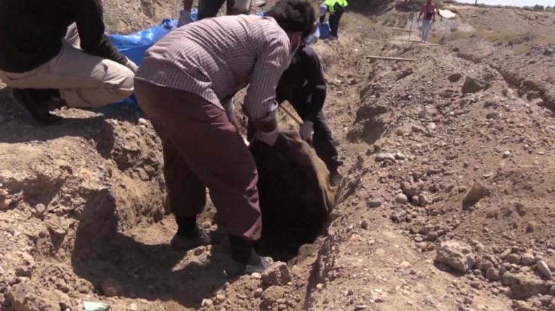 """Exklusiv: Von US-Koalition """"befreite"""" Stadt Rakka noch heute von Leichen übersät"""