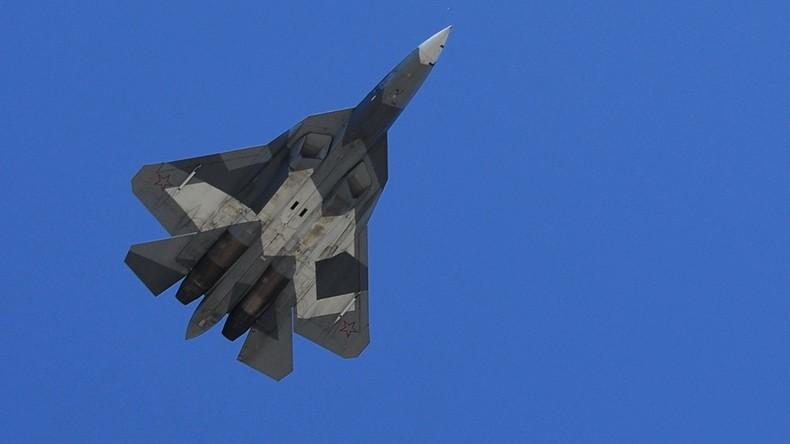 Russisches Verteidigungsministerium: Su-57 unser Trumpf und zweieinhalb Mal billiger als F-35
