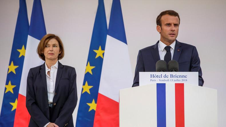 """Aufrüstung in Frankreich: Macron segnet """"beispiellosen Haushaltsaufwand"""" für das Militär ab"""