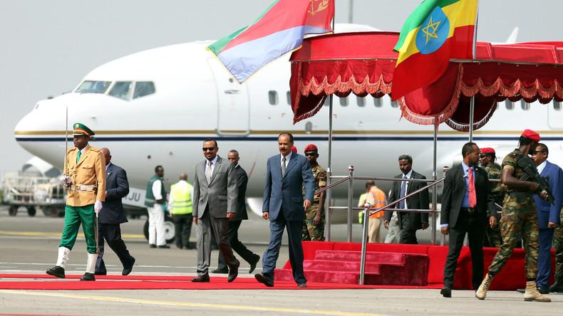 Erster Besuch von Eritreas Präsident in Äthiopien seit 22 Jahren