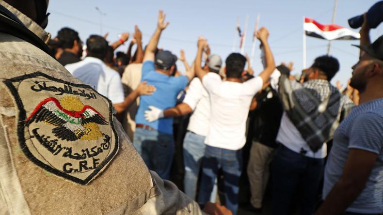 Proteste im Irak: Mindestens ein Toter und zahlreiche Verletzte