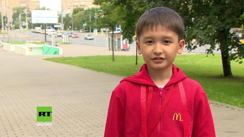 Russland: Kasachisches Kind gewinnt goldenes Ticket zum WM-Finale