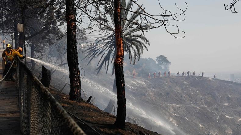 Feuerwehrmann stirbt bei Löscharbeiten in Kalifornien