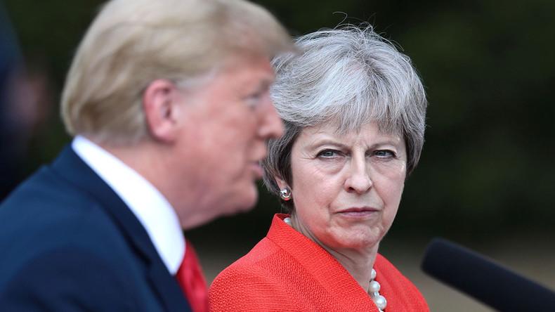 Donald Trump gibt Theresa May seinen Brexit-Ratschlag: EU verklagen statt zu verhandeln