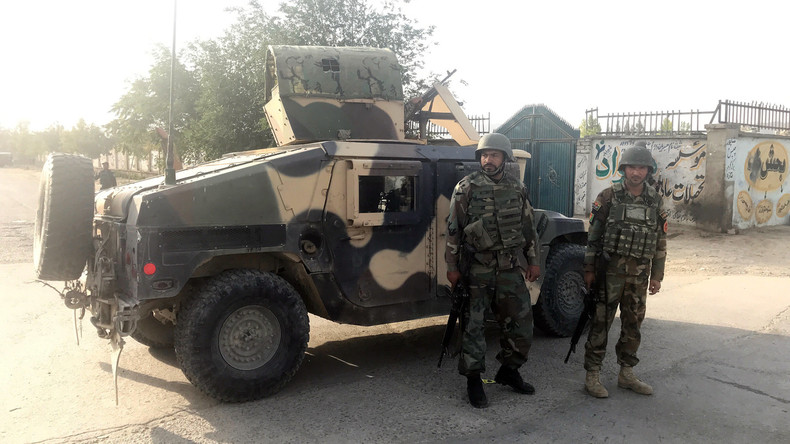 Mindestens acht Tote bei Selbstmordanschlag auf Ministerium in Kabul