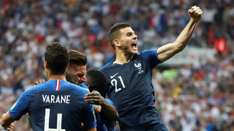 Fußball-WM in Russland: Frankreich zum zweiten Mal Fußball-Weltmeister