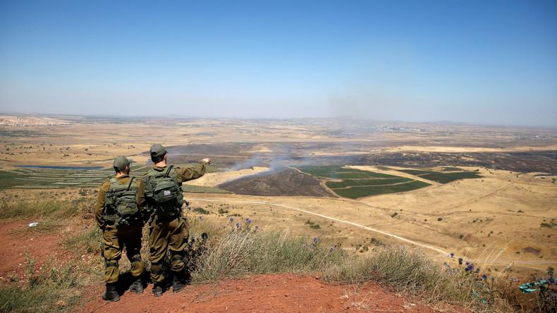 Israelische Luftwaffe greift Stellung der Regierung in Syrien an
