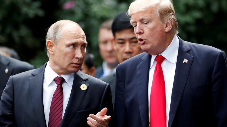 """Trump-Tweet: """"Dummheit der USA ist schuld an schlechten Beziehungen zu Russland"""""""