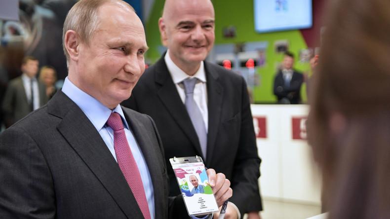 Wladimir Putin: Fan-ID soll als Visum für Russland bis Ende des Jahres gelten