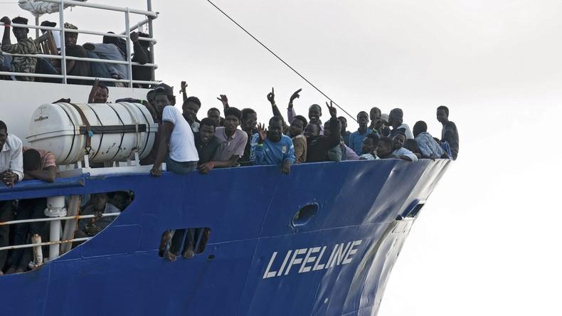 """""""Lifeline""""-Kapitän erhebt Vorwürfe gegen EU - 277 Menschen ertrunken"""