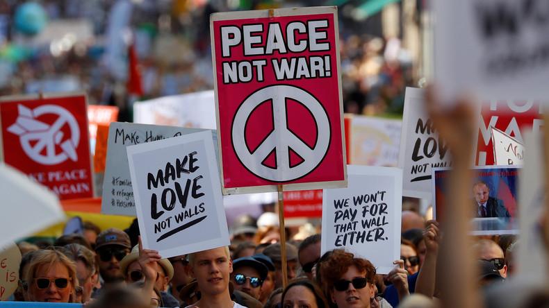 Im Westen grassiert die Angst - Vor dem Frieden