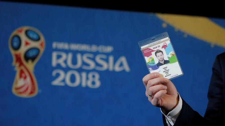 1,8 Millionen Fan-IDs bei der Fußball-WM: Aus China, USA und Mexiko die meisten Russland-Besucher