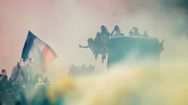 Nach Pariser WM-Feiern immer noch 31 Menschen in Polizeigewahrsam