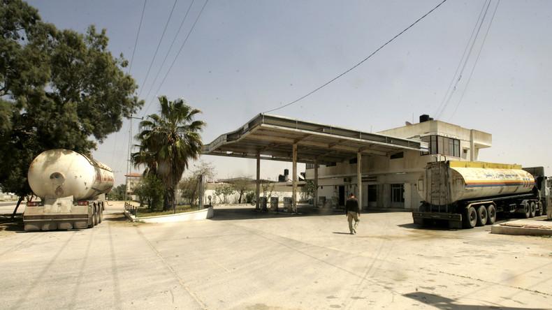 Israel stoppt Lieferungen von Treibstoff nach Gaza wegen Attacken der Hamas