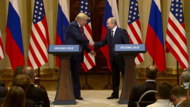 """""""Denn davon hängt der Weltfrieden ab"""" - Putin und Trump geloben Verbesserung der Beziehungen"""