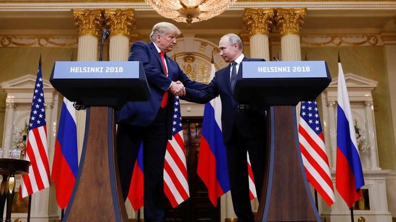 """Worte, auf die die Welt gewartet hat - Präsident Putin und Präsident Trump """"rocken den Globus"""""""
