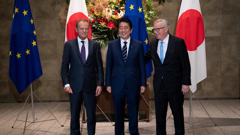 EU und Japan unterzeichnen bislang größtes Freihandelsabkommen