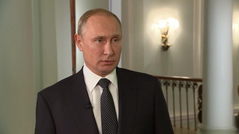 """Putin lobt Trump als einen guten Politiker: """"Er hört darauf, was die Menschen und Wähler wollen"""""""