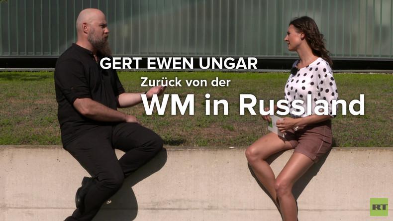 Blogger und WM-Beobachter Gert Ewen Ungar räumt mit Mythen über Russland auf