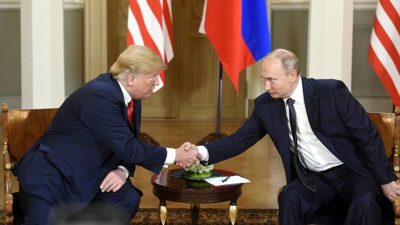 "Trump verteidigt Gipfel mit Putin - Kritik an ""Fake News"""