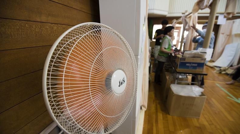 Japan leidet unter lebensbedrohlicher Hitze: Bei Temperaturen bis 40 Grad sterben Dutzende Menschen