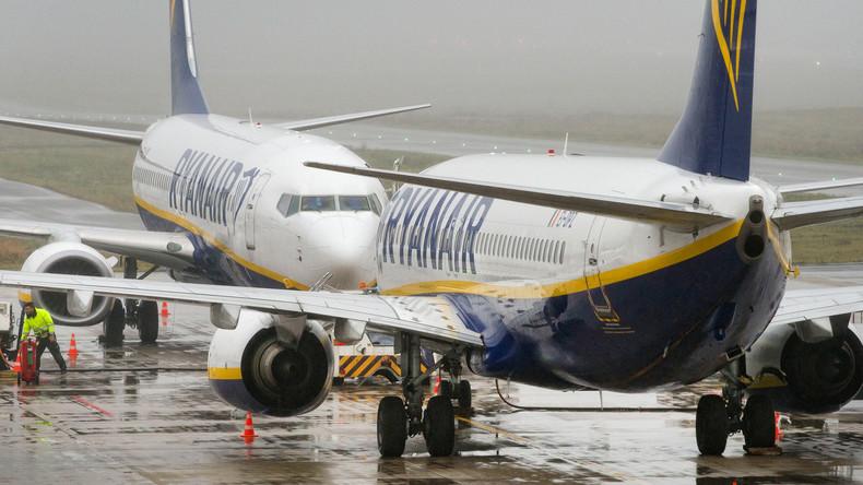 Ryanair sagt wegen Streiks für kommende Woche 300 Flüge ab