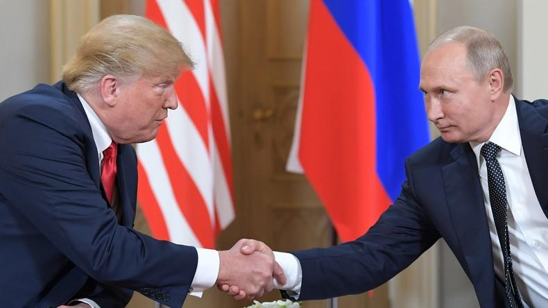 Was hat Trump Putin versprochen? Demokraten wollen seine Dolmetscherin vor dem Kongress verhören