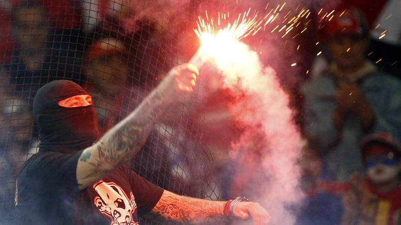 Unruhestifter nicht willkommen: Über 3.000 Fans durften aus Sicherheitsgründen nicht zur WM