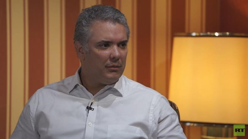 """Kolumbiens gewählter Präsident Iván Duque zu RT: """"Ich ändere die Spielregeln nicht"""""""