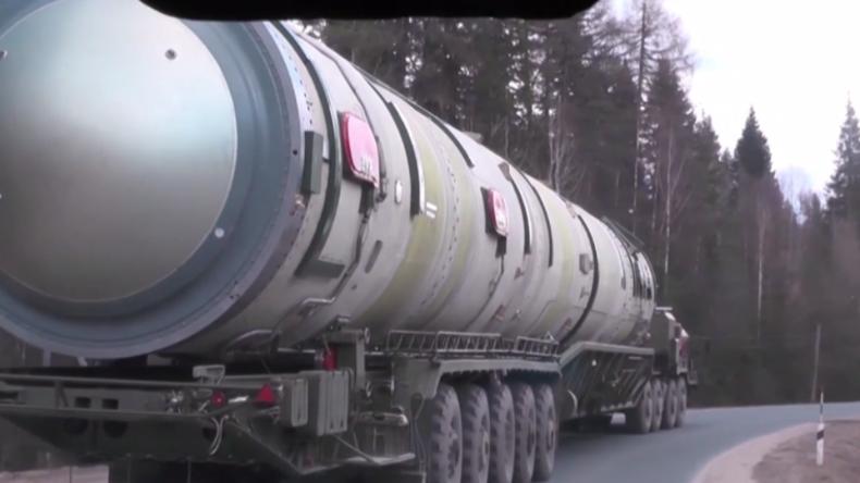 Russland veröffentlicht Videoaufnahmen von seinen jüngsten und futuristischen Waffensystemen