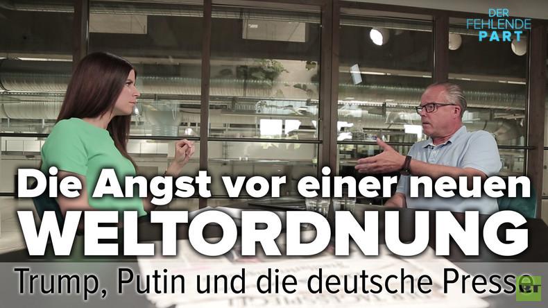 Die Angst vor einer neuen Weltordnung: Trump, Putin und die deutsche Presse