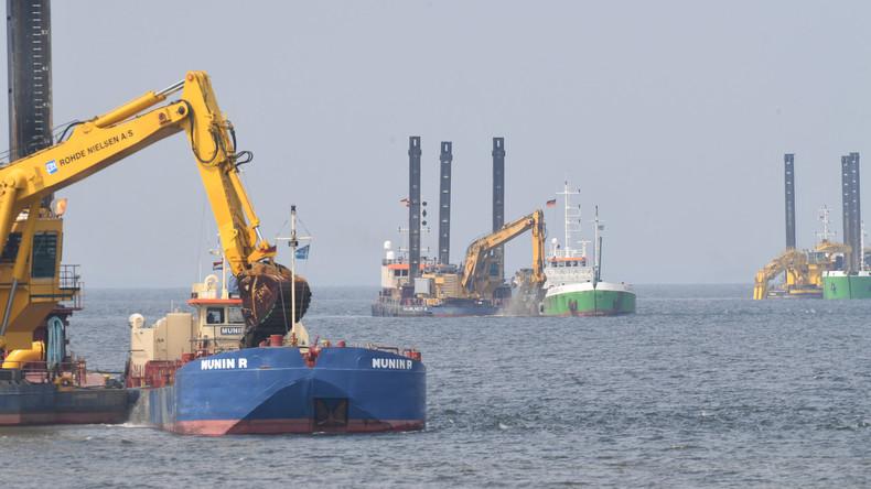 Verfassungsklage gegen Ostsee-Pipeline gescheitert - Kein Baustopp