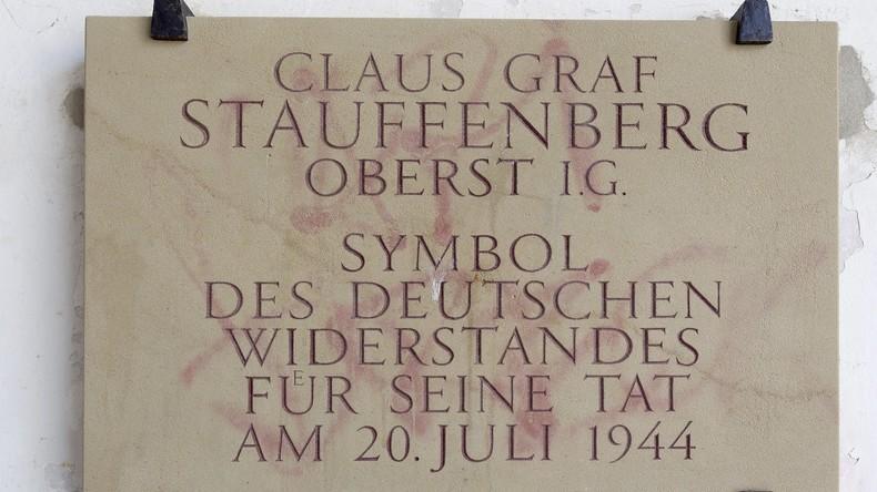 Gedenken an Widerstand des 20. Juli 1944 in Berlin