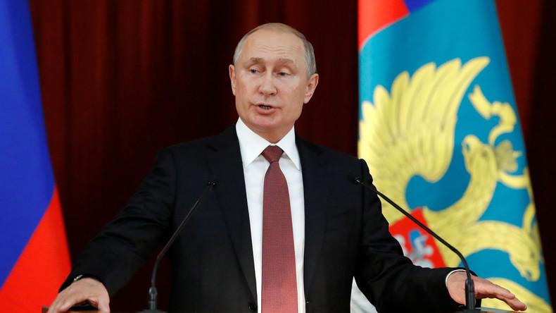 """""""Werden angemessen reagieren"""": Putin warnt NATO vor engerer Anbindung der Ukraine und Georgiens"""