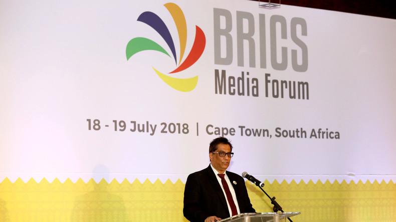 BRICS-Medienforum in Südafrika: BRICS-Staaten diskutieren Medienkooperation und Narrativ-Förderung
