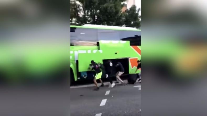 Frankreich: Mob plündert fahrenden Flixbus während WM-Feier in Grenoble - Busfahrer protestieren