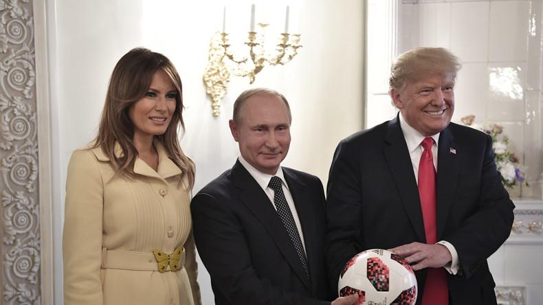 Nach Helsinki: Trump lädt Putin nach Washington ein (Video)