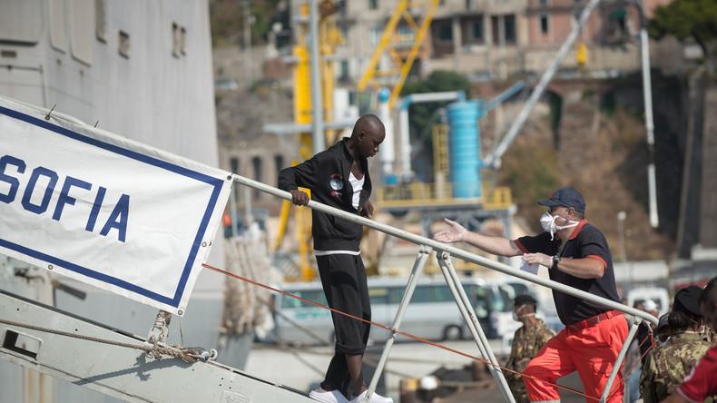 Italien will faire Verteilung der Bootsflüchtlinge, sonst droht Sperre auch für EU-Marinemission