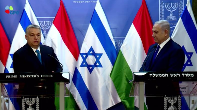 Netanjahu und Orban sehen sich an vorderster Front gegen radikalen Islamismus