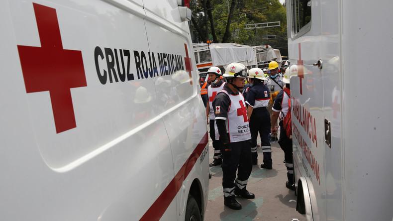 Mexiko: Mindestens zwölf Tote bei schwerem Busunglück