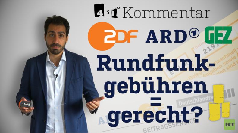 Rundfunkgebühren Urteil gerecht ? | ARD ZDF | KOMMENTAR 451 Grad