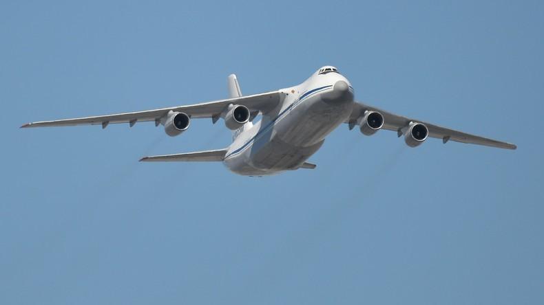 Russland und Frankreich schicken gemeinsam 44 Tonnen Hilfsgüter nach Syrien