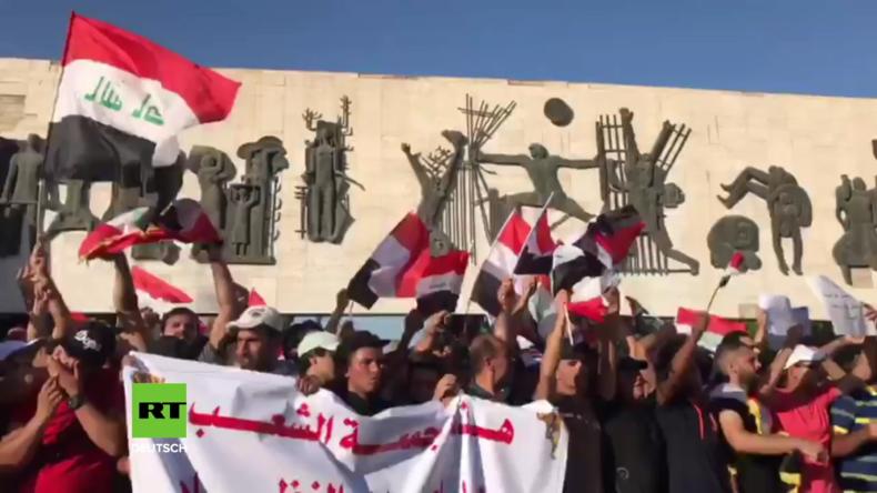 Irak: Proteste in Bagdad gegen wirtschaftliche Krise