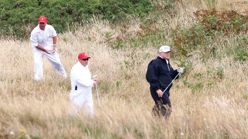US-Kampfjet fängt Flugzeug nahe Donald Trumps Golfclub ab