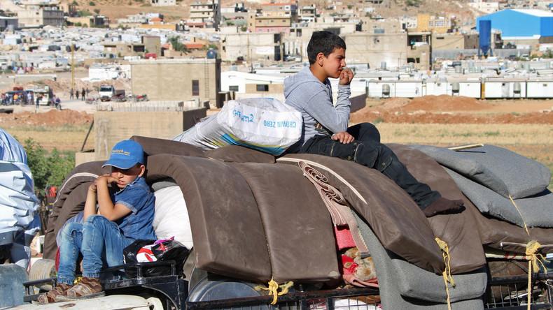 Hunderte Syrer aus dem Libanon kehren in die Heimat zurück